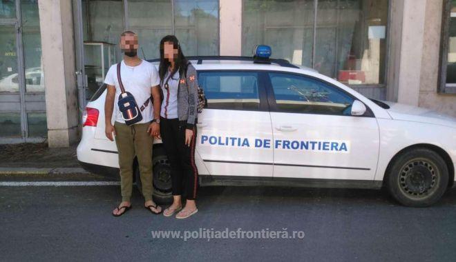 Foto: Acuzați de trecere ilegală a frontierei. Doi libanezi voiau să ajungă la Constanța