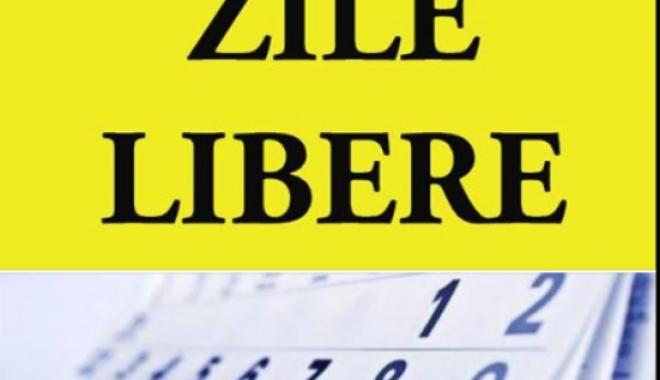 Foto: ZILE LIBERE 2018. Calendarul sărbătorilor legale. Câte zile nu se vor lucra anul acesta