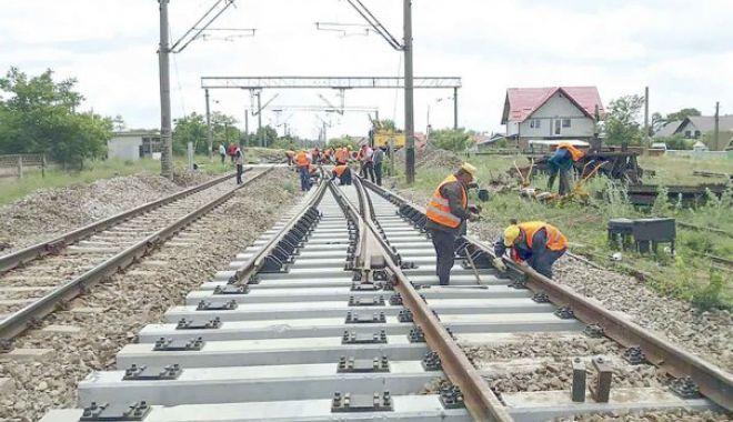 Foto: Licitație pentru calea ferată București Nord - Henri Coandă