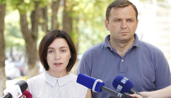 Foto: Liderii  a trei partide de opoziţie din Republica Moldova, în vizită la Bruxelles