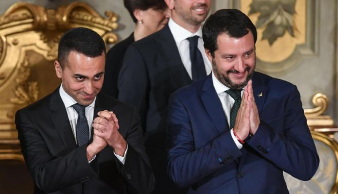 Foto: Liderii populişti ai Italiei neagă existenţa unor planuri de ieşire din UE
