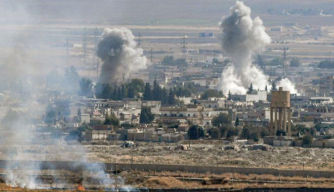 Foto: Liderii UE cer Turciei să pună capăt intervenției sale militare în nordul Siriei