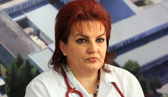 Foto: Dr. Liliana Tuţă, numită preşedinte  al Societăţii de Nefrologie