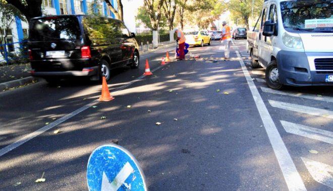 Şoferi, atenţie! Limitatoare de viteză pe o stradă intens circulată, din Constanţa - limitatoare2-1537780300.jpg