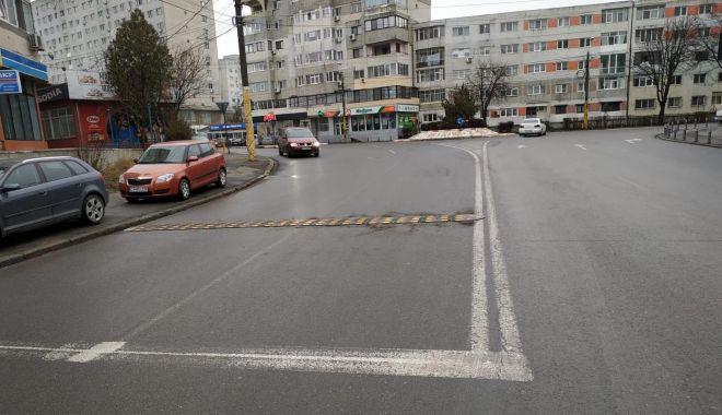 Limitatoare de viteză, montate pe străzi din Constanţa. Iată unde