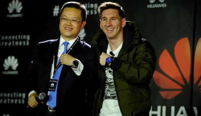 Foto: Lionel Messi, numit ambasador global al mărcii Huawei