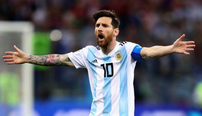 Foto: Lionel Messi revine la naţionala Argentinei!