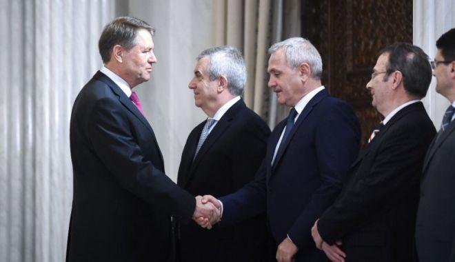 Foto: Liviu Dragnea cere plângere pentru înaltă trădare la adresa lui Klaus Iohannis