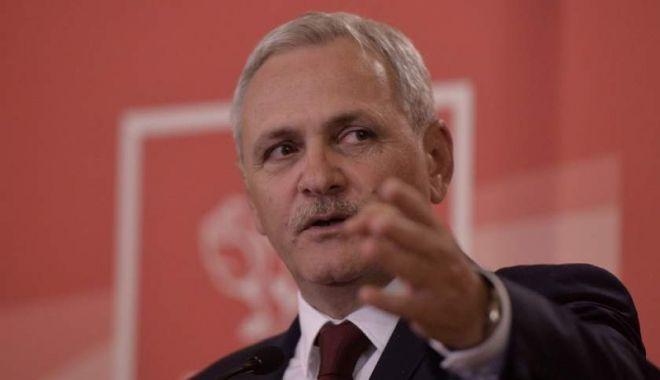Foto: Dragnea a anunţat ce va face PSD dacă Iohannis nu o revocă pe Kovesi