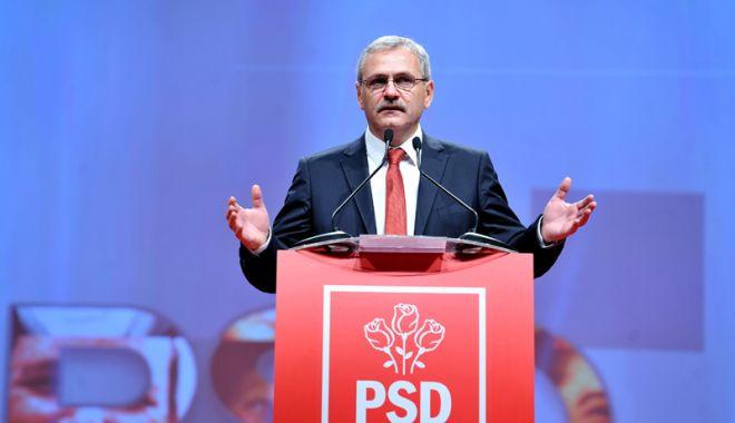 Foto: Liviu Dragnea: Puterea se câştigă prin vot, la urne, ideile se dezbat cu argumente