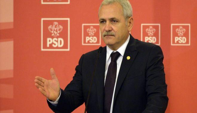 """Foto: Liviu Dragnea: """"Ce a făcut Iohannis în patru ani de mandat?"""""""