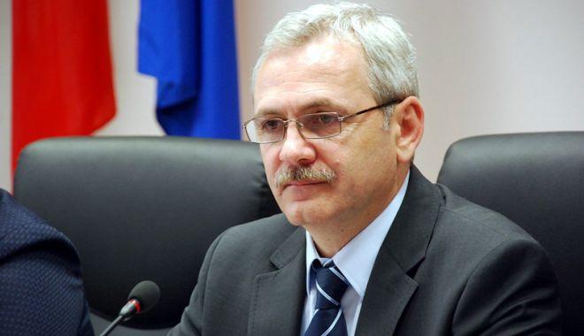 Foto: Liviu Dragnea: Regret atitudinea preşedintelui Iohannis. Nu o să dăm înapoi