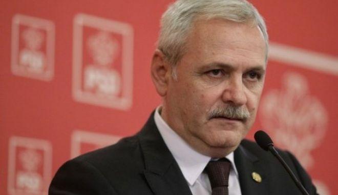 Foto: Liviu Dragnea: Susţin plângerea pentru înaltă trădare împotriva lui Klaus Iohannis