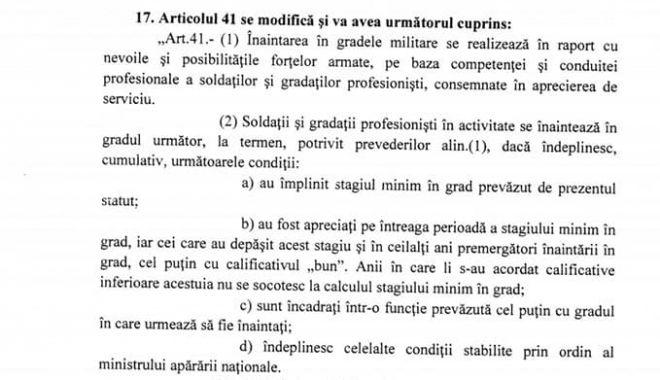 Informații de ULTIMĂ ORĂ privind statutul soldaților și gradaților profesioniști. Aviz favorabil în Comisia de Apărare! - lmp5-1571830359.jpg