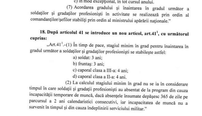 Informații de ULTIMĂ ORĂ privind statutul soldaților și gradaților profesioniști. Aviz favorabil în Comisia de Apărare! - lmp6-1571830375.jpg