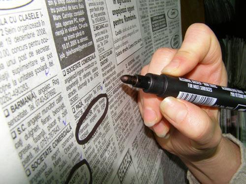 Foto: Locuri de muncă pentru șomeri. Ce se mai caută