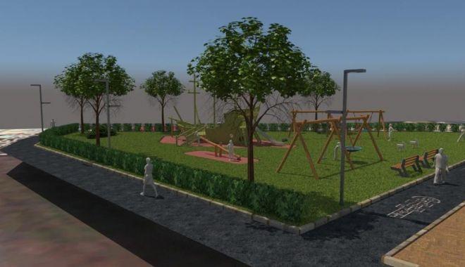 Foto: Primăria Mangalia înființează mai multe locuri de joacă pentru copii