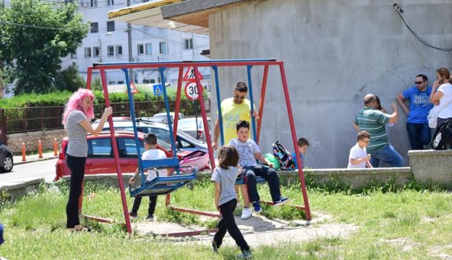 """Foto: """"Primăria Constanţa trebuie  să rezolve de urgenţă problema locurilor de joacă!"""""""