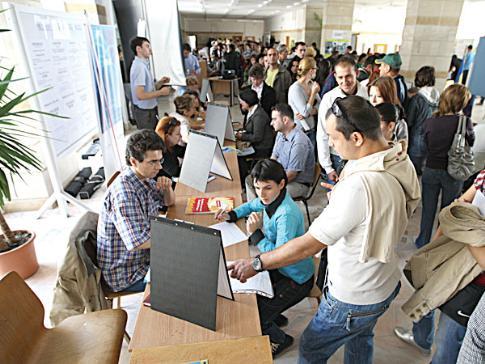 Foto: ANOFM/ A crescut, din nou, rata şomajului