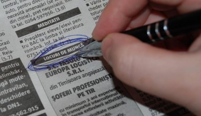 Foto: Informaţia zilei pentru şomeri