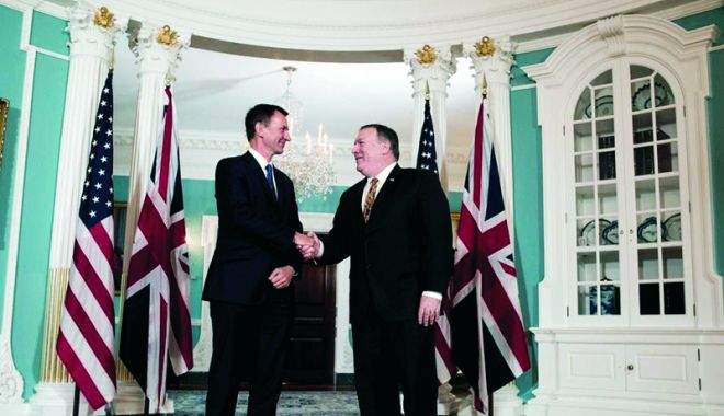 Foto: Londra vede un entuziasm real din partea SUA pentru un acord de liber schimb