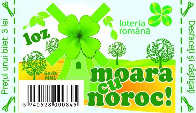 """Foto: Loteria Română lansează lozul """"Moara cu noroc"""""""