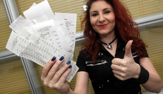 Foto: Loteria bonurilor fiscale - de la entuziasm la dezamăgire