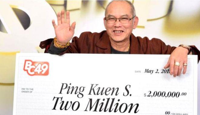 Foto: NOROCOS PÂNĂ LA CAPĂT! Povestea incredibilă a celui care a câştigat DOUĂ milioane de dolari la loto