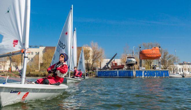 Lotul național de yachting se antrenează în condiții de top la Constanța