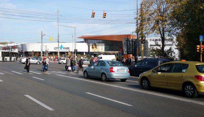 Foto: Atenție, lucrări! Ce intersecție din oraşul Constanţa este reabilitată la acest moment