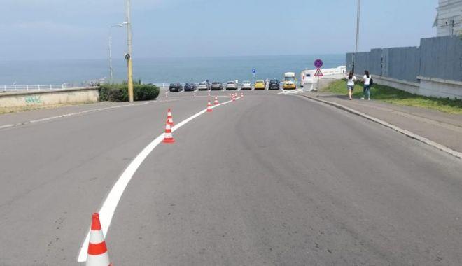 Foto: Primăria Municipiului Constanța continuă lucrările de asfaltare. Iată graficul