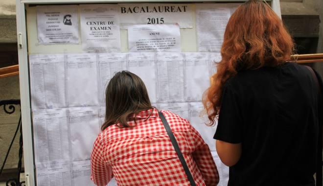 Foto: Lucrări anulate şi profesori sancţionaţi la Bacalaureat