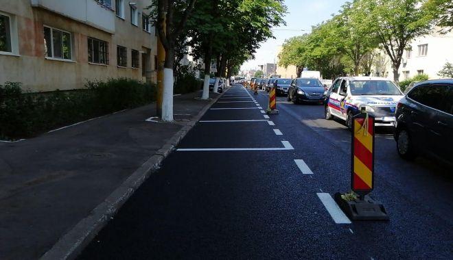 Foto: Şoferi, atenţie unde parcaţi! Lucrări la Constanţa!