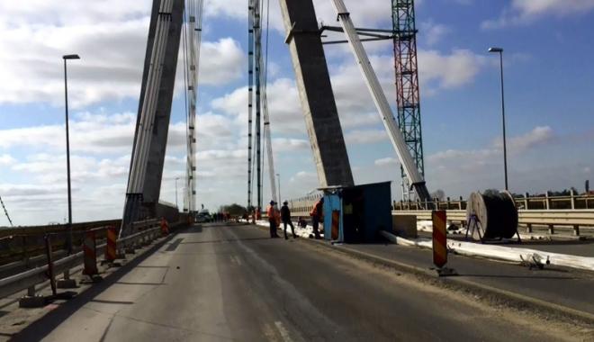 Foto: Lucrările la Podul Agigea, în întârziere!