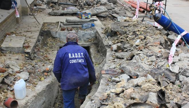Foto: RADET intervine în mai multe zone din Constanţa