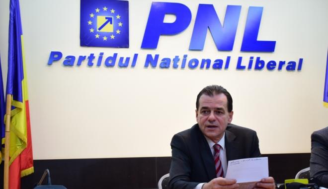 Foto: Ludovic Orban vrea câştigarea alegerilor prezidenţiale cu Iohannis candidat din partea PNL