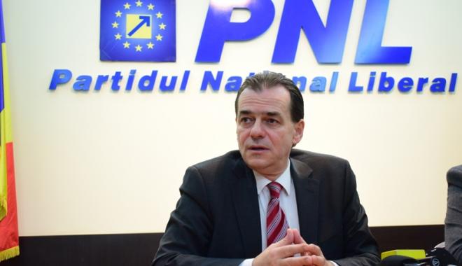 """Foto: Ludovic Orban: """"PNL e împotriva aberaţiilor fiscale anunţate  de Guvern"""""""