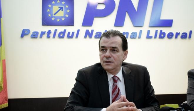 Foto: Ludovic Orban: PNL va vota împotriva Guvernului Dăncilă