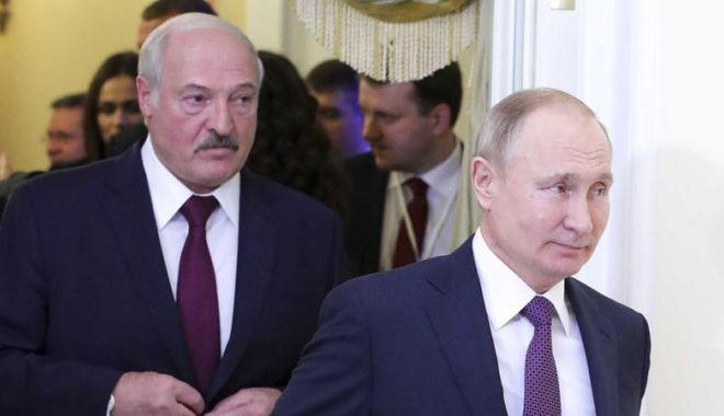 Foto: Putin a anunțat că se va întâlni cu Lukașenko la Moscova
