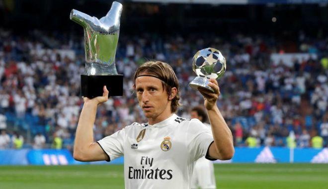 Foto: Luka Modric şi-a prelungit angajamentul cu Real Madrid