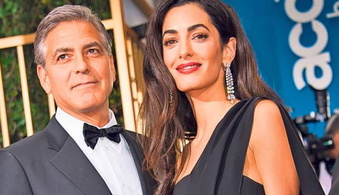 Foto: George Clooney, pus la slăbit de nevastă