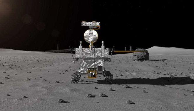 Foto: Premieră istorică: China a reuşit aselenizarea pe partea ascunsă a Lunii