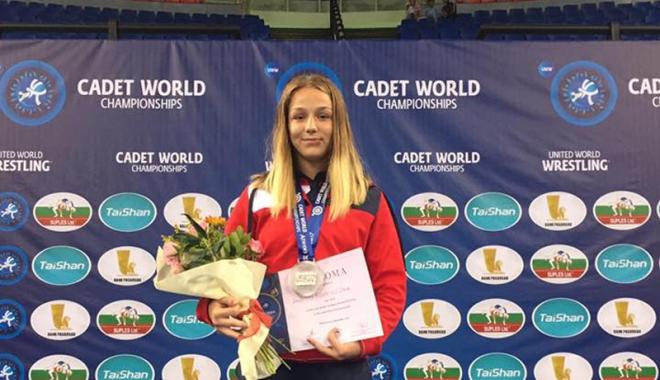 Foto: Luptătoarea Andreea Ana, din nou vicecampioană mondială