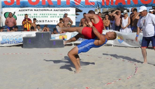 Foto: Lupt�torii const�n�eni, cu g�ndul la medalii