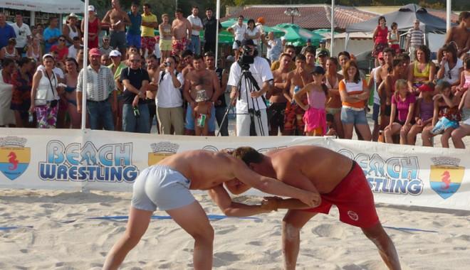 Foto: Naţionalele de wrestling-beach, la Mangalia