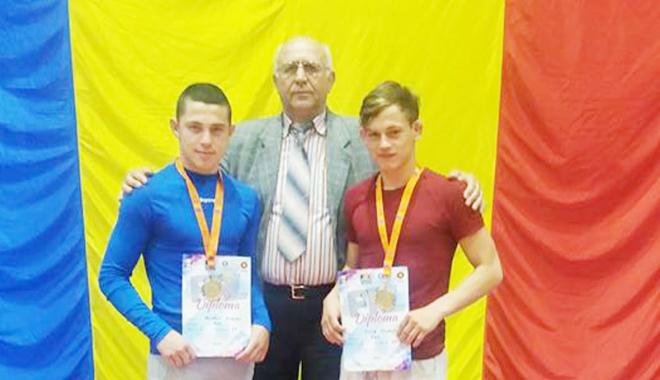 Foto: Patru medalii pentru luptele constănţene, la Turneul Internaţional de la Bucureşti