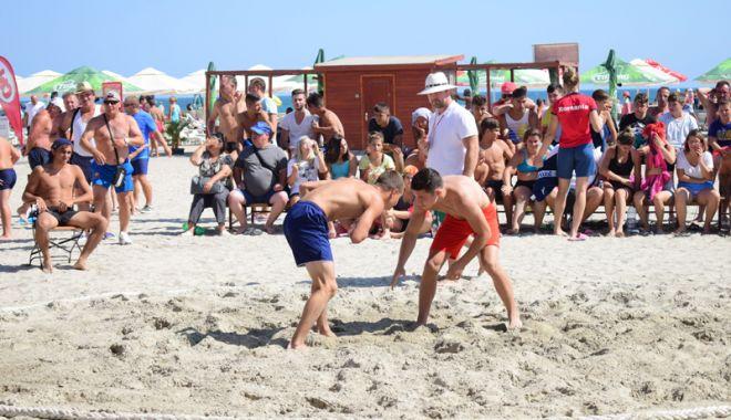 Foto: Frige nisipul, să vină medaliile!