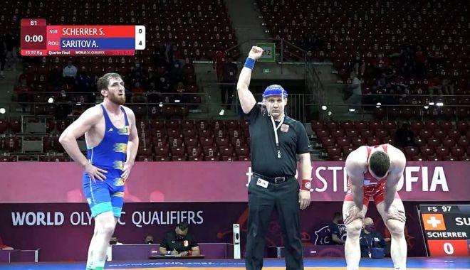 Lupte / Albert Saritov, la un meci distanţă de la calificarea la JO de la Tokyo - luptesaritov-1620312179.jpg