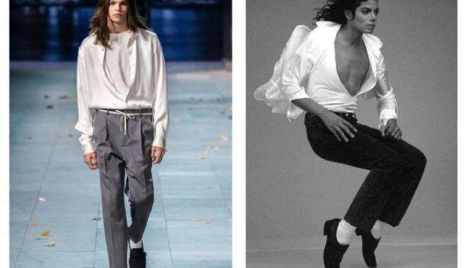 Foto: Louis Vuitton a retras articolele de îmbrăcăminte cu tematica Michael Jackson