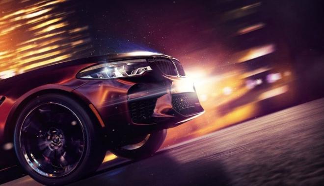 Foto: Noul BMW M5, dezvăluit parțial pe coperta jocului Need For Speed Payback